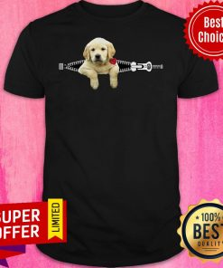 Funny Dogs Pisces Golden Retriever Zip And Rose Shirt