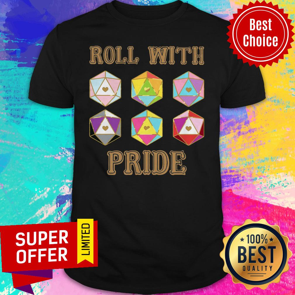Funny LGBT Roll With Pride Shirt