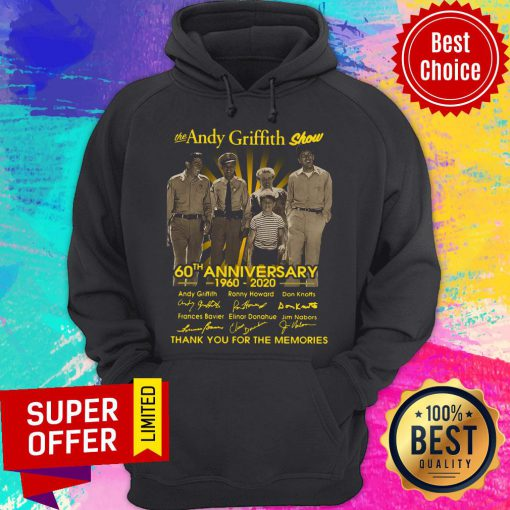 Awesome The Andy Griffith Show 60th Anniversary 1960 2020 Hoodie