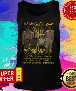 Awesome The Andy Griffith Show 60th Anniversary 1960 2020 Tank Top