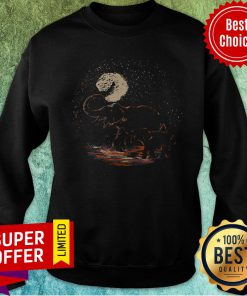 Official Elephant Mom And Baby Vintage Sweatshirt