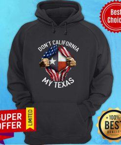 Funny Don't New York My Texas American Flag Hoodie