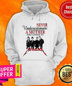 Official Never Underestimate A Mother Who Listens To Ml Hoodie
