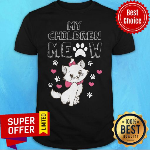 Top My Children Meow Dog And Cat Shirt
