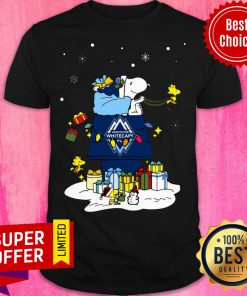 Awesome Vancouver Whitecaps FC Santa Snoopy Wish You A Merry Christmas Shirt