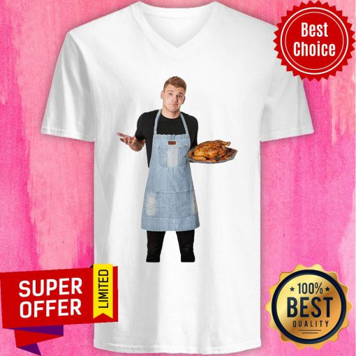 Nice Not Your Mother's Cooking Chef Donny V-neck