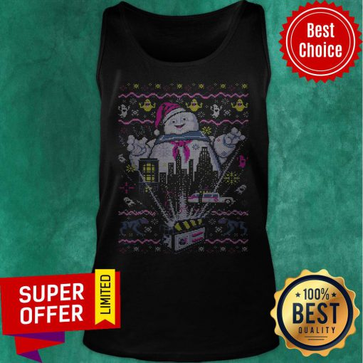 Nice There Is No Santa Only Zuul Ugly Christmas Tank Top