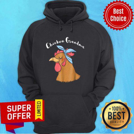 Official Chicken Grandma Hoodie