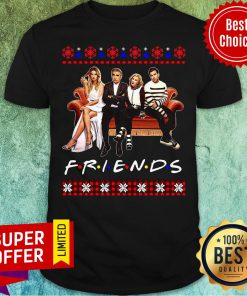 Official Schitt's Creek And Friends Merry Christmas Ugly Shirt