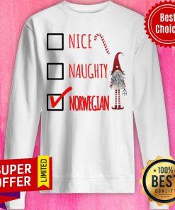 Premium Naughty Norwegian Sweatshirt