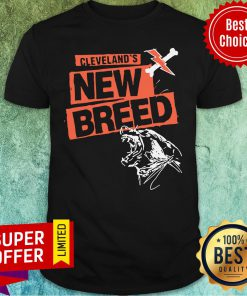 Awesome Cleveland Football New Breed Shirt