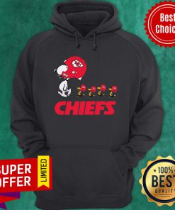 Awesome Snoopy And Woodstock The Kansas City Chiefs Hoodie
