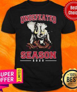 Awesome Alabama Crimson Tide Undefeated Season 2020 Shirt