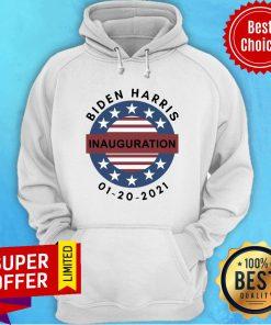 Official Biden Harris Inauguration 01-20-2021 Hoodie