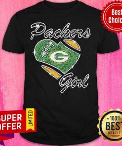 Premium Packers Girl Noir Green Shirt